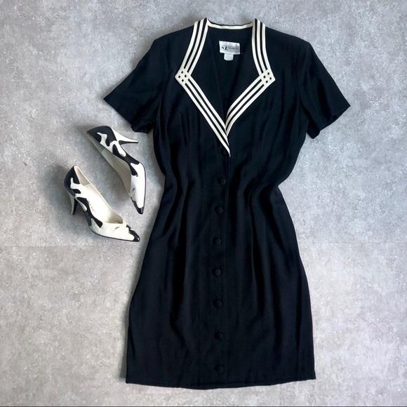 Kasper Dresses & Skirts - Vintage Button-Up Dress